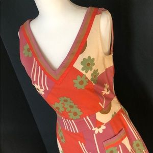Vintage Style Funky Marc Jacobs Floral Dress 6
